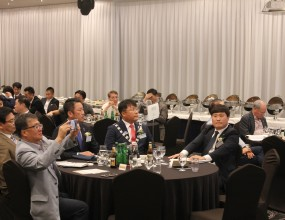8월 월례회 - 한국어변론대회 입상자 한국방문 환영회
